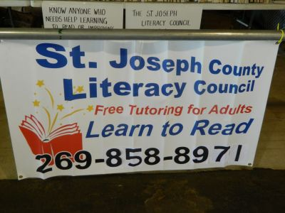 St. Joseph County Literacy Council at the Home and Garden Expo