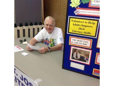 St. Joseph County Literacy Council at the Grange Fair
