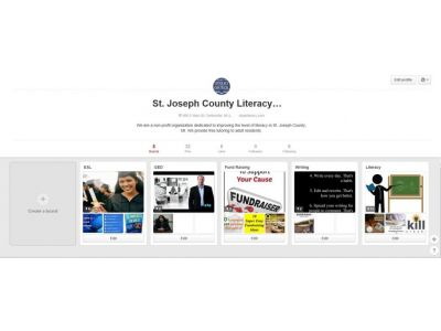 ca34a9957 The Literacy Council goes on Pinterest | St. Joseph County Literacy ...